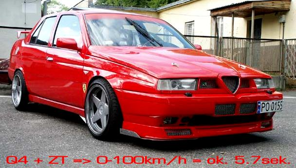 Alfa romeo v6 tuning parts 16